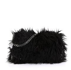 Stella McCartney Falabella Flap Bag Faux Fur - Rebag