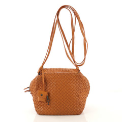 Bottega Veneta Zip Cube Messenger Intrecciato Nappa Small - Rebag