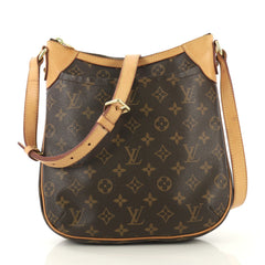 Louis Vuitton Odeon Handbag Monogram Canvas PM Brown 422671