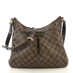 Louis Vuitton Bloomsbury Handbag Damier PM Brown 422692