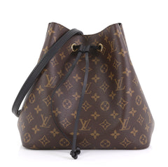 Louis Vuitton Neonoe Handbag Monogram Canvas Brown 423181