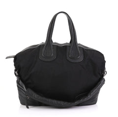 Givenchy Nightingale Satchel Nylon and Leather Large - Rebag