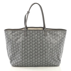 Goyard St. Louis Tote Coated Canvas PM Gray 423971