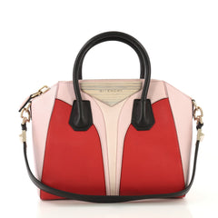 Givenchy Tricolor Antigona Bag Leather Medium - Rebag