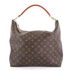 Louis Vuitton Sully Handbag Monogram Canvas MM