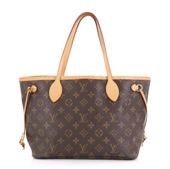 Louis Vuitton Neverfull Tote Monogram Canvas PM Brown 425111