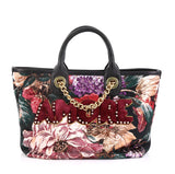 Dolce & Gabbana Amore Shopping Tote Jacquard Medium
