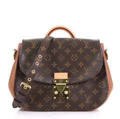 Louis Vuitton Eden Handbag Monogram Canvas MM Brown 425261