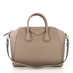 Givenchy Model: Antigona Bag Leather Medium Neutral 42537/2