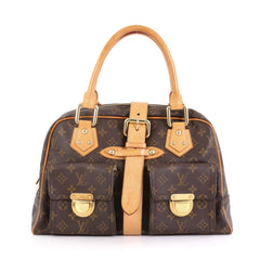 Louis Vuitton Manhattan Handbag Monogram Canvas GM