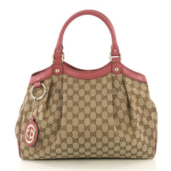 Gucci Model: Sukey Tote GG Canvas Medium Brown 42568/1