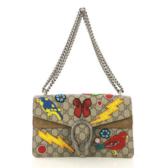 Gucci Dionysus Bag Embellished GG Coated Canvas Small