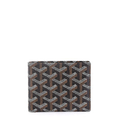 Goyard Model: Saint Florentin Wallet Coated Canvas Black 42595/41