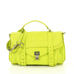 Proenza Schouler PS1 Satchel Leather Medium - Rebag