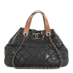 08c689ed58de Chanel In The Mix Tote Quilted Iridescent Calfskin Large