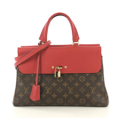 Louis Vuitton Venus Handbag Monogram Canvas and Leather Red 42611187