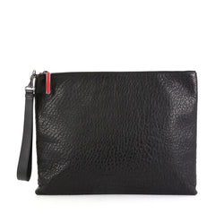 Christian Louboutin Peter Pouch Leather Medium  black 42611/70