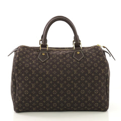 Louis Vuitton Speedy Bandouliere Bag Monogram Idylle 30