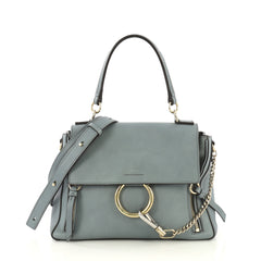 Chloe Model: Faye Day Bag Leather Small Blue 42668/1