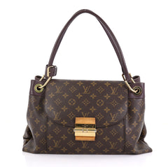 Louis Vuitton Olympe Handbag Monogram Canvas