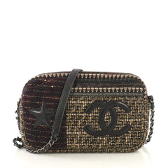 Chanel Paris-Dallas Camera Case Tweed Medium