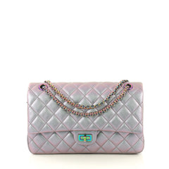 Chanel Reissue 2.55 Flap Bag Quilted Iridescent Lambskin 226