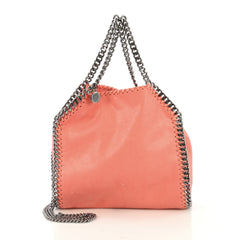 Stella McCartney Model: Falabella Fold Over Crossbody Bag Shaggy Deer Mini Pink 42858/18