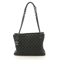 Chanel New Bubble Tote Quilted Calfskin Small