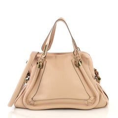 Chloe Paraty Top Handle Bag Leather Medium - 42909/1
