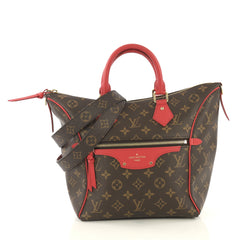 Louis Vuitton Tournelle Tote Monogram Canvas PM Brown 429111