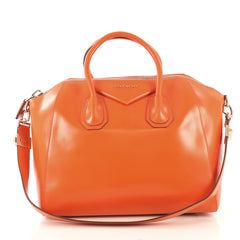 Givenchy Antigona Bag Leather Medium - Designer Handbag - Rebag