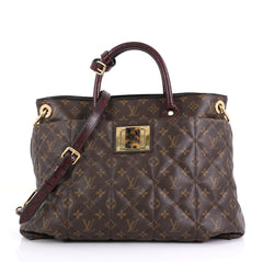 Louis Vuitton Limited Edition Exotique Handbag Monogram Etoile GM
