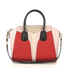 Givenchy Antigona Architect Bag Colorblock Leather Small