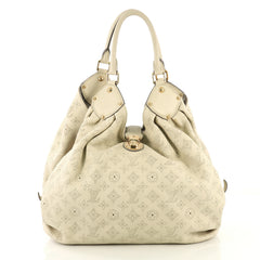Louis Vuitton XL Hobo Mahina Leather Neutral 429966