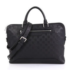 Louis Vuitton Avenue Soft Briefcase Damier Infini Leather