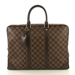 Louis Vuitton Porte-Documents Voyage Bag Damier Brown 4300340
