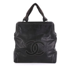Chanel Soho Tote Leather Tall