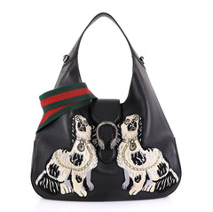 Gucci Dionysus Hobo Embroidered Leather Large 43073/4