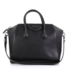 Givenchy Antigona Bag Leather Medium Black 4309711
