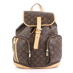 Louis Vuitton Bosphore Backpack Monogram Canvas Brown 431901