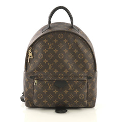 Louis Vuitton Palm Springs Backpack Monogram Canvas MM Brown 4320864