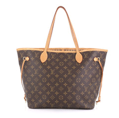 Louis Vuitton Neverfull NM Tote Monogram Canvas MM Brown 432211