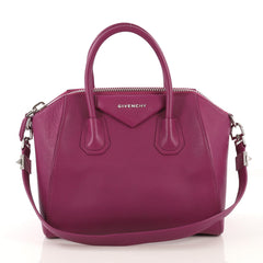 Givenchy Antigona Bag Leather Small Purple 432762