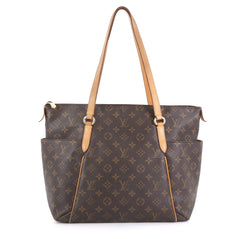 Louis Vuitton Totally Handbag Monogram Canvas MM Brown 433903