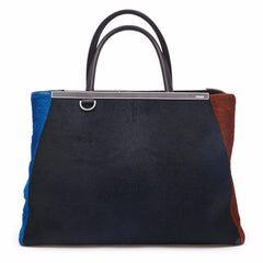 Fendi 2Jours Calf Hair Medium