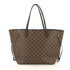 Louis Vuitton Neverfull Tote Damier MM Brown 434166