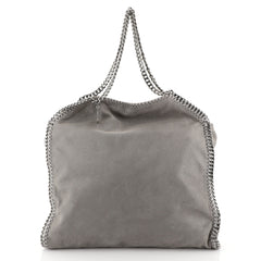 Stella McCartney Falabella Tote Shaggy Deer Large Gray 434181