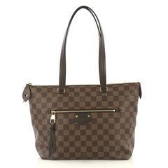 Louis Vuitton Iena Tote Damier PM Brown 435011
