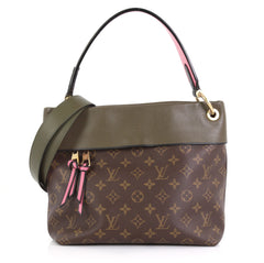 Louis Vuitton Tuileries Besace Bag Monogram Canvas with Leather  Green 435871