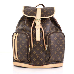 Louis Vuitton Bosphore Backpack Monogram Canvas Brown 436311
